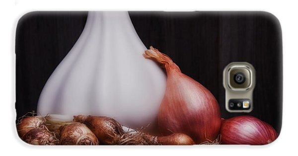 Onions Galaxy S6 Case by Tom Mc Nemar