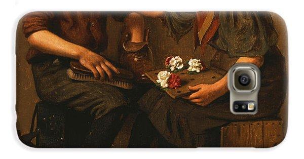 Boy George Galaxy S6 Case - Only A Nickel Joe by John George Brown