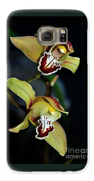 Orchids In The Evening Galaxy S6 Case by Kaye Menner