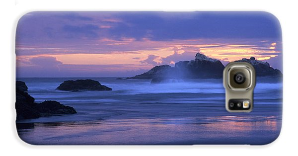 Oregon Coast Sunset Galaxy S6 Case
