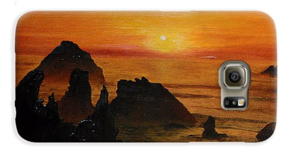 Oregon Sunset Galaxy S6 Case