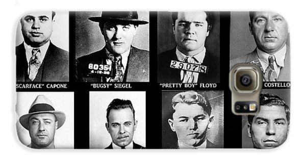 Boy George Galaxy S6 Case - Original Gangsters - Public Enemies by Paul Ward