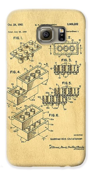 Original Us Patent For Lego Galaxy S6 Case