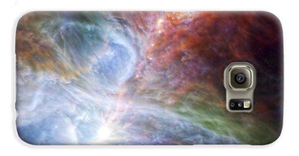 Orion's Rainbow Of Infrared Light Galaxy S6 Case by Adam Romanowicz