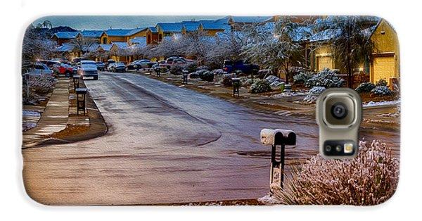 Oro Valley Winter No.54 Galaxy S6 Case