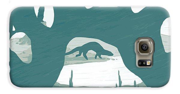 Otter Galaxy S6 Case - Otter Paw by Daniel Hapi