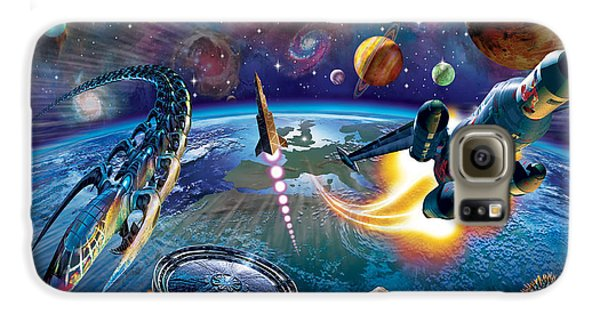 Outer Space Galaxy S6 Case by Adrian Chesterman