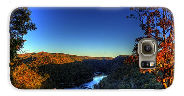 Galaxy S6 Case featuring the photograph Overlook In The Fall by Jonny D
