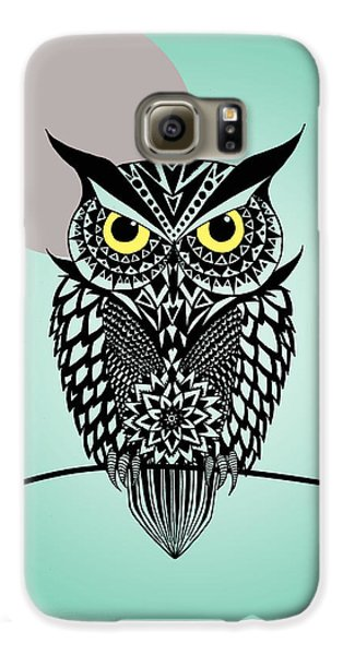 Owl 5 Galaxy S6 Case by Mark Ashkenazi