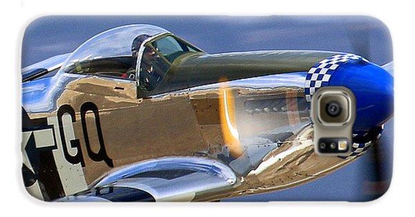 Grim Reaper P51 Mustang At Salinas Air Show Galaxy S6 Case