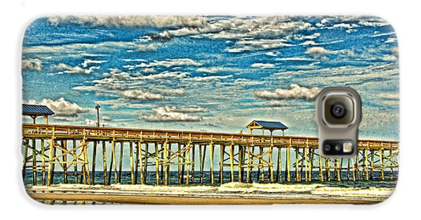 Surreal Reflection Pier Galaxy S6 Case