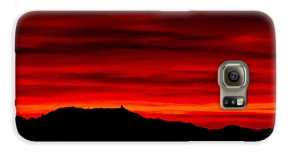 Galaxy S6 Case featuring the photograph Painted Sky 36 by Mark Myhaver