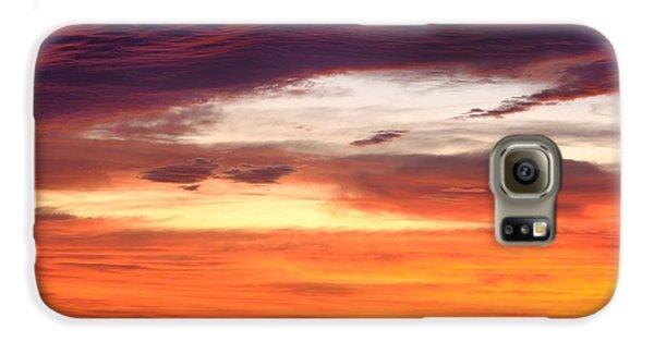 Painterly Sunrise On The Blue Ridge Parkway Galaxy S6 Case