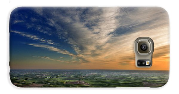 Palouse Sunset Galaxy S6 Case