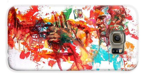 Trumpet Galaxy S6 Case - Paolo Fresu by Massimo Chioccia