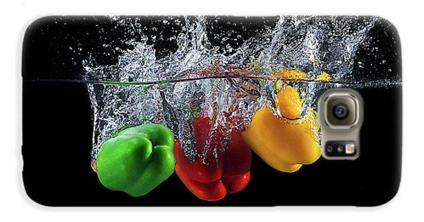 Colours Galaxy S6 Case - Paprika Splash by Mogyorosi Stefan