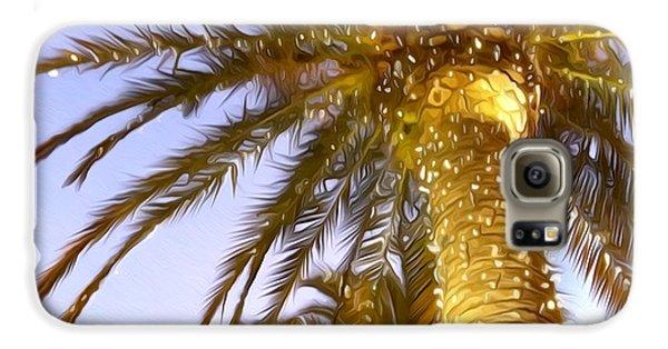 Paradise Palm Galaxy S6 Case
