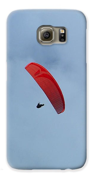 Galaxy S6 Case featuring the photograph Parapente by Marc Philippe Joly