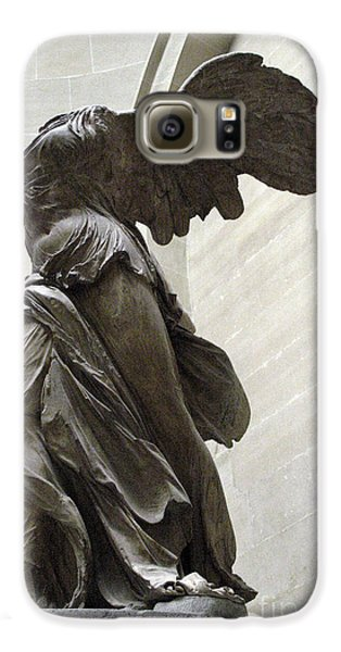 Paris Angel Louvre Museum- Winged Victory Of Samothrace Galaxy S6 Case