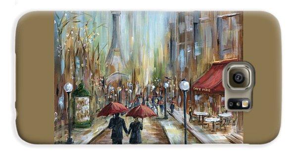 Paris Lovers Ill Galaxy S6 Case by Marilyn Dunlap