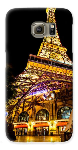 Paris Under The Tower Galaxy S6 Case by Az Jackson