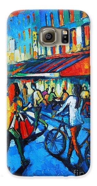 Parisian Cafe Galaxy S6 Case