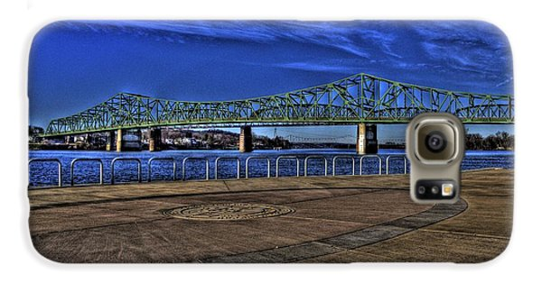 Galaxy S6 Case featuring the photograph Parkersburg Point Park by Jonny D