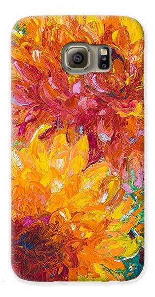 Passion Galaxy S6 Case by Talya Johnson