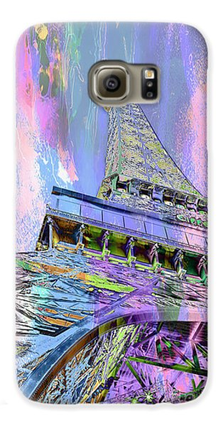 Pastel Tower Galaxy S6 Case by Az Jackson