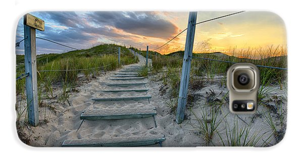 Path Over The Dunes Galaxy S6 Case