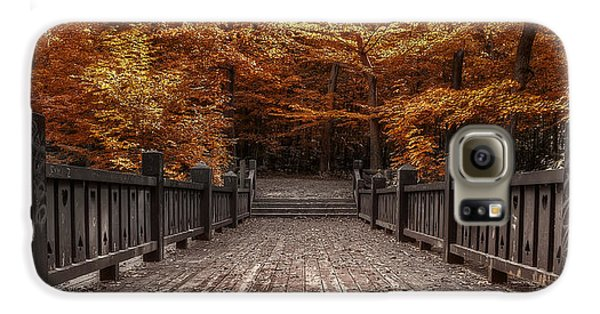 Landscapes Galaxy S6 Case - Path To The Wild Wood by Scott Norris