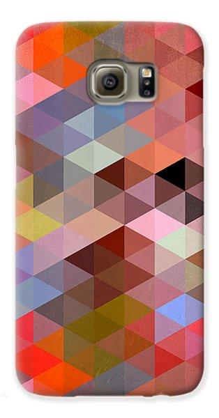 Pattern Of Triangle Galaxy S6 Case by Mark Ashkenazi