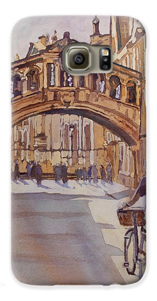 Pausing Before The Bridge Galaxy S6 Case by Jenny Armitage