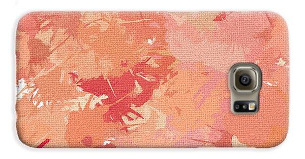 Peach Galore Galaxy S6 Case by Lourry Legarde