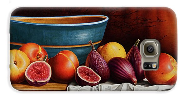 Peaches And Figs Galaxy S6 Case by Horacio Cardozo