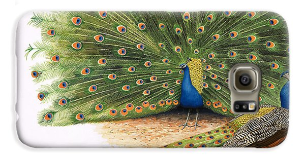 Peacocks Galaxy S6 Case by RB Davis