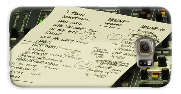 Pearl Jam Set List- Moline Galaxy S6 Case