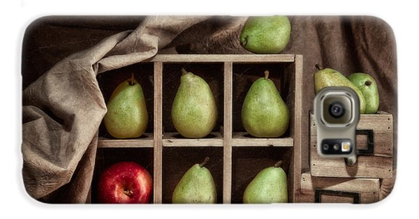Pears On Display Still Life Galaxy S6 Case