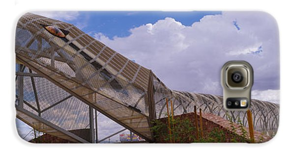 Diamondback Galaxy S6 Case - Pedestrian Bridge Over A River, Snake by Panoramic Images