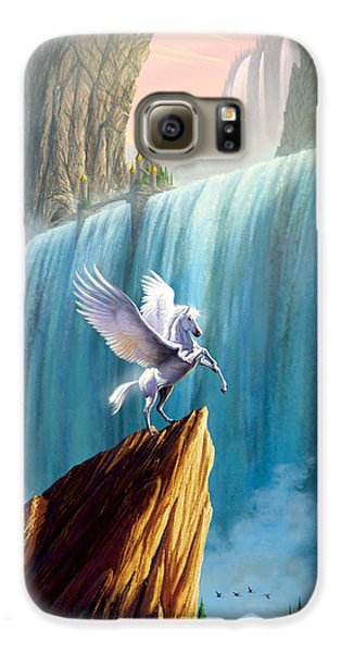 Pegasus Kingdom Galaxy S6 Case by Garry Walton
