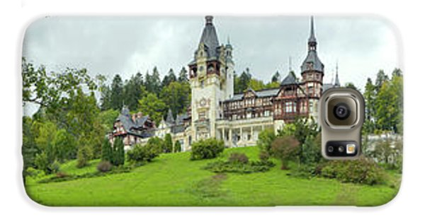 Peles Castle In The Carpathian Galaxy S6 Case by Panoramic Images