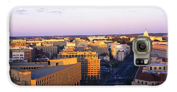 Pennsylvania Ave Washington Dc Galaxy S6 Case by Panoramic Images