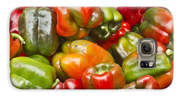 Galaxy S6 Case featuring the photograph Peppers by Ricky L Jones