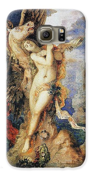 Perseus And Andromeda Galaxy S6 Case by Gustave Moreau