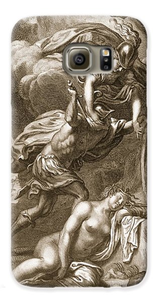 Gorgon Galaxy S6 Case - Perseus Cuts Off Medusas Head, 1731 by Bernard Picart
