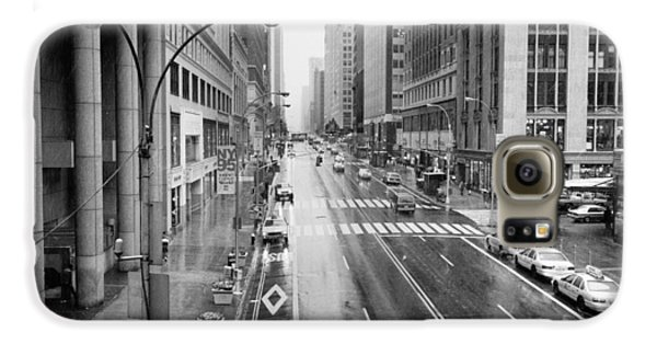 Galaxy S6 Case featuring the photograph Pershing View 42nd Street Nyc by Dave Beckerman