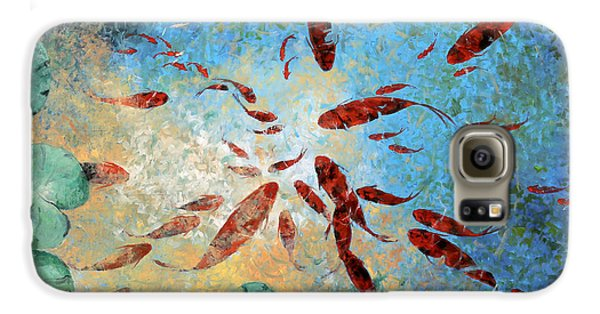 Koi Rotanti Galaxy S6 Case by Guido Borelli