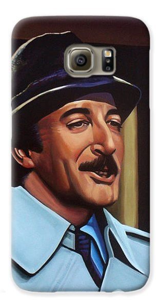Panther Galaxy S6 Case - Peter Sellers As Inspector Clouseau  by Paul Meijering