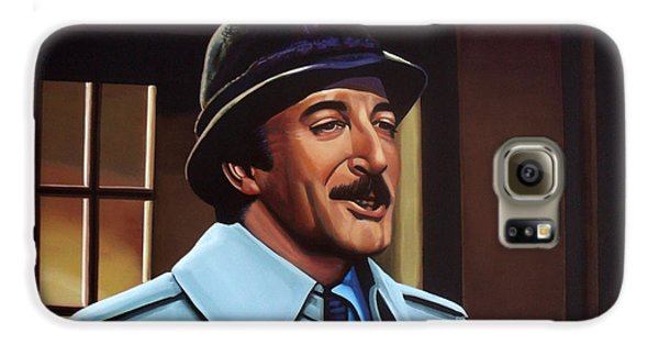 Peter Sellers As Inspector Clouseau  Galaxy S6 Case by Paul Meijering