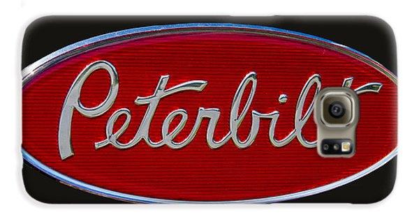 Peterbilt Semi Truck Logo Emblem Galaxy S6 Case